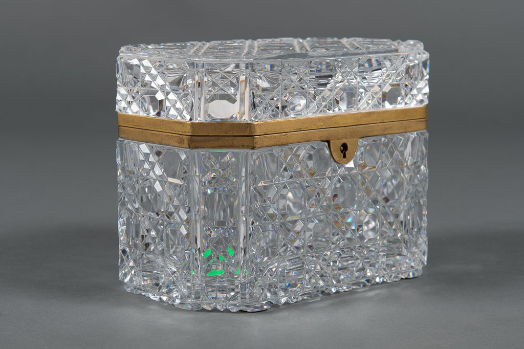 French Baccarat crystal Box