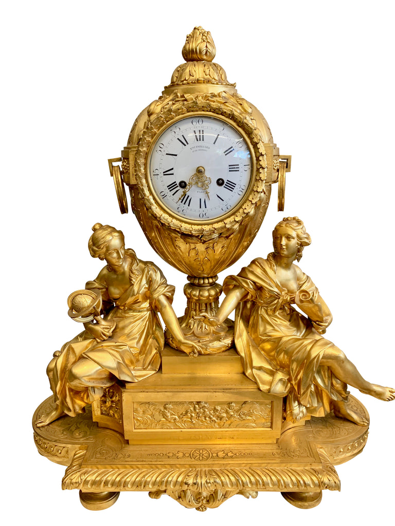 An Exquisite French Ormolu Mantel Clock by Victor Paillard