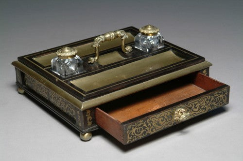 A French Boulle Ink Stand