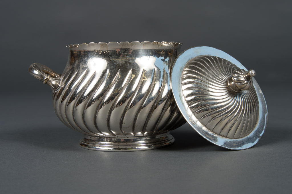 An Antique 4-Piece Silver Plated Tea Set by Christofle
