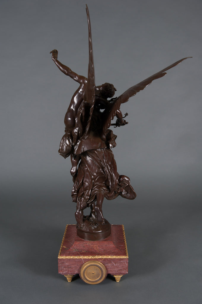 'Gloria Victis' bronze group by Marius-Jean-Antonin Mercié
