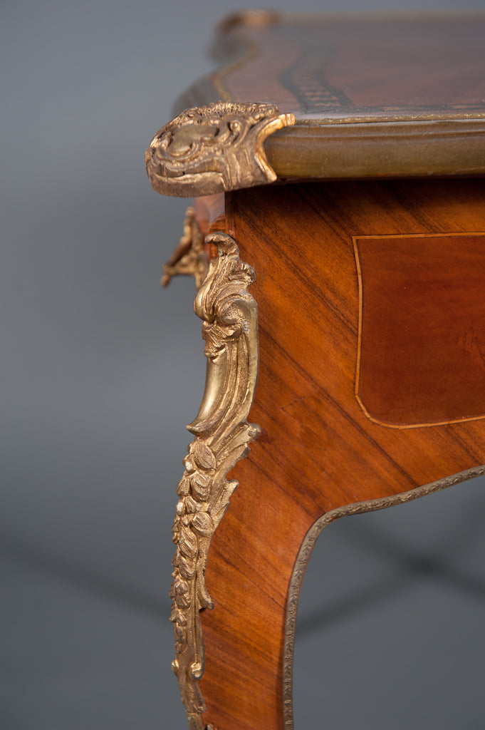 19th century French Louis XV style marquetry lady's table / desk