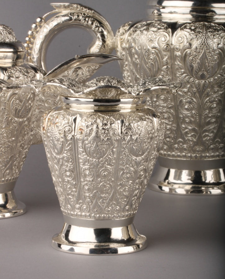 Superb 800.Silver Tea Set