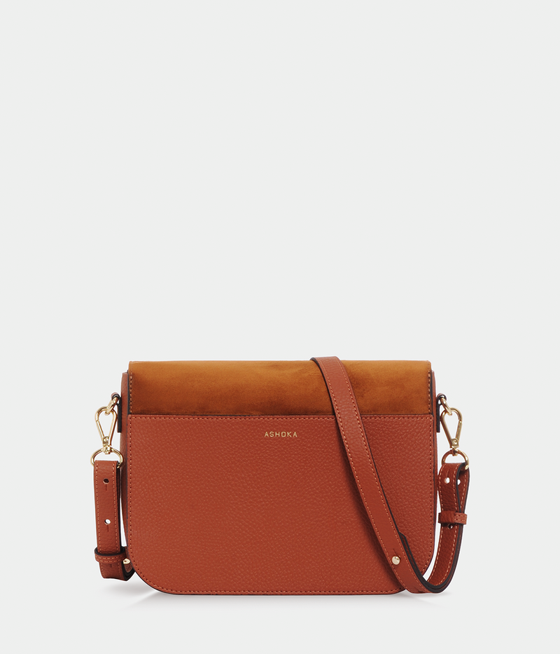 Sac Brigitte Oxymore Apple Skin camel
