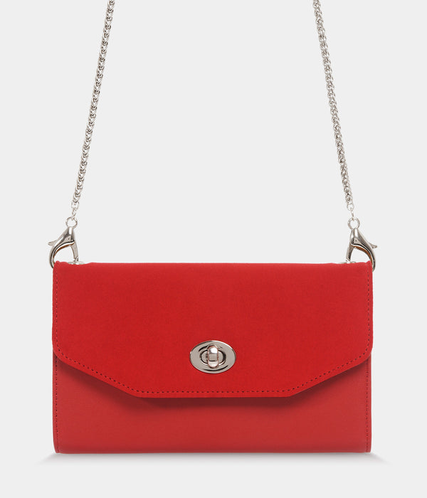 Sac-Compagnon Piaf Oxymore rouge
