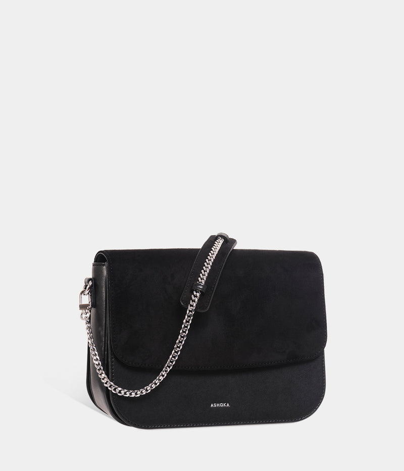 Sac Brigitte Oxymore Apple Skin noir