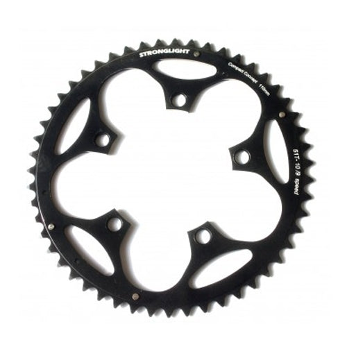 Stronglight Dural 5083 Chainrings 110 PCD | BLACK