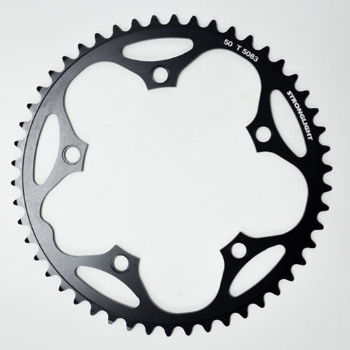 Stronglight Dural 5083 Chainrings 130 PCD | BLACK
