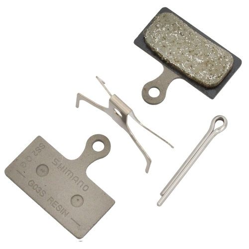 Shimano G03S Steel Backed Resin Brake Pads-Brake Pads-Roger Garage Custom Bikes