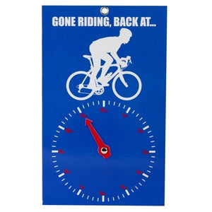 Midas Novelty Gone Riding Clock