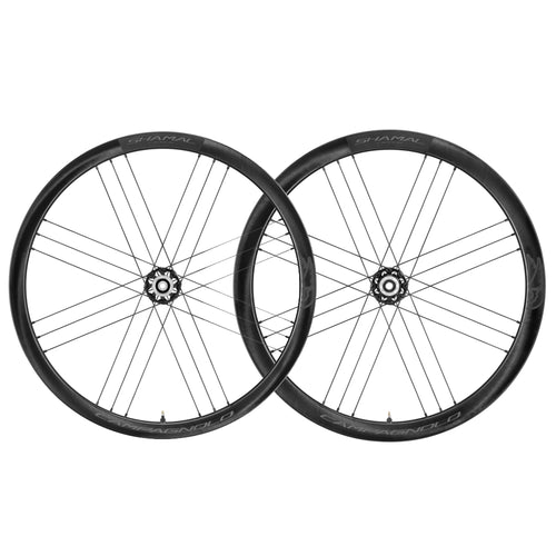Campagnolo Shamal Carbon C21 Disc 2-Way Wheelset-Wheels-Roger Garage Custom Bikes