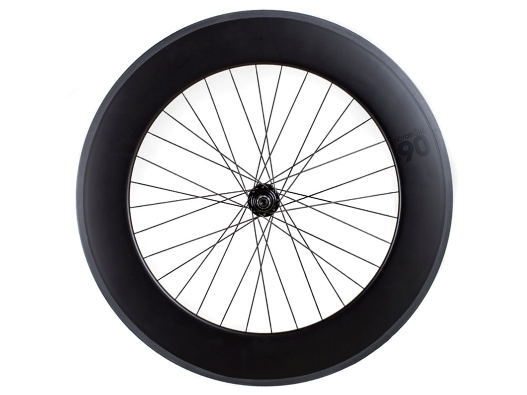 BLB NOTORIOUS 90 FRONT WHEEL - BLACK MSW