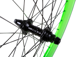 BLB NOTORIOUS 90 REAR WHEEL - GREEN/BLACK