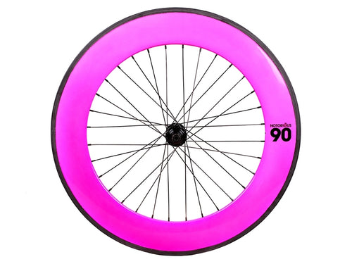 BLB NOTORIOUS 90 REAR WHEEL - PINK/BLACK