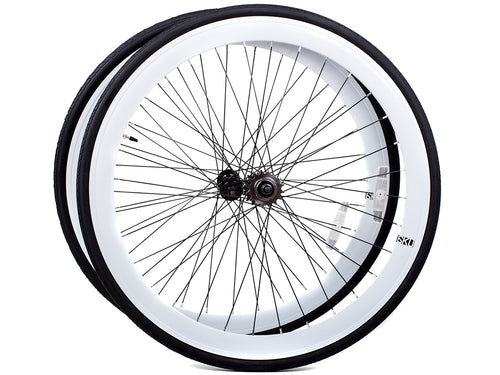 6KU WHEELSET - WHITE