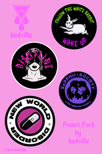 Sticker Power Pack by Bodville