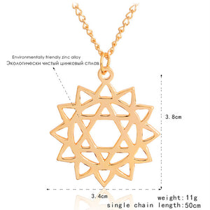 Sacred geometry healing Necklace
