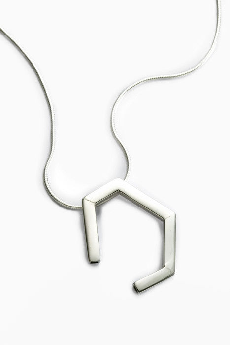 Tube Horseshoe Pendant