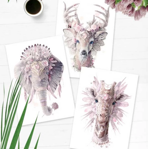 Caz Creations Wall Art Prints - by Carlie Edwards