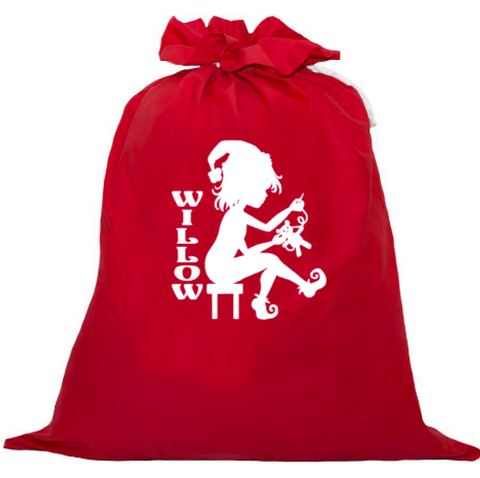 Personalised Santa Sack - Elf