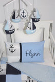 Nautical Anchor Patch Comforter Set - PREMIUM