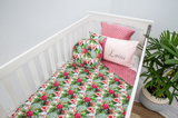 Hibiscus Blush Cot Set