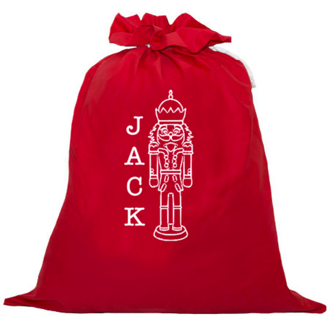 Personalised Santa Sack - Nut Cracker