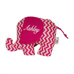 Ellie - Softie Hot pink Chevron