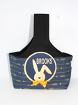 Easter Hunting Baskets - Navy Arrow