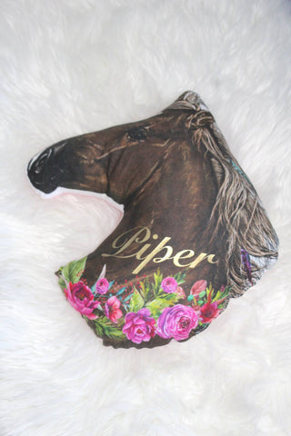 Horse  Personalised Cushion - Hoot Designz