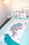 Boho Headdress-Bed Set