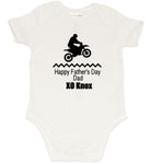 Fathers day Romper - Dirt Bike