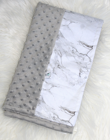 Personalised Pram Blanket - Marble