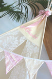Cream Vintage Lace Teepee
