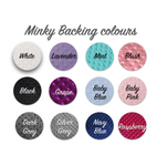 Minky Change Pad Covers - Hoot Designz
