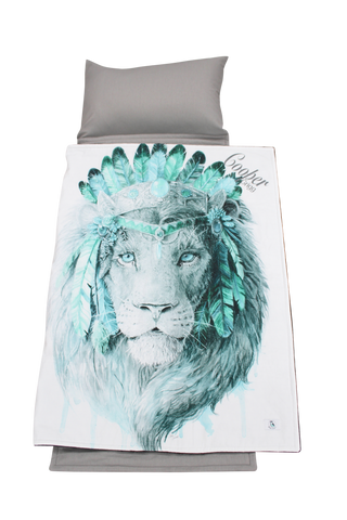 Daycare Nap Mat- Boho Lion