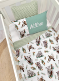 Aussie Animals Cot set