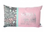 Sleeping Fox Personalised Cushion - Hoot Designz