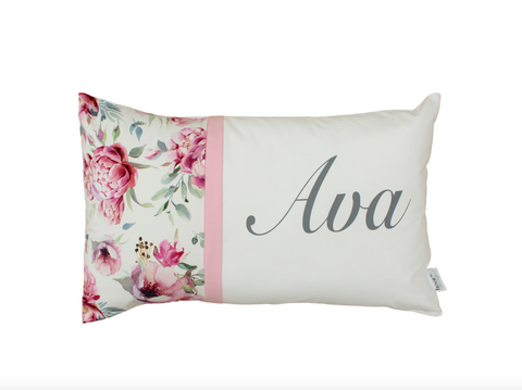 Peony Blossom  Personalised Cushion
