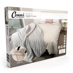 WATERPROOF QUILT COVER - IVORY