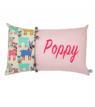 Poppy Llama Personalised Cushion - Hoot Designz