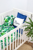 River Palm Leaf Comforter - Hoot Designz