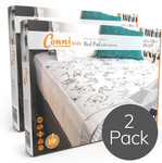 CONNI REUSABLE BED PAD WITH TUCK-INS -2 PACK