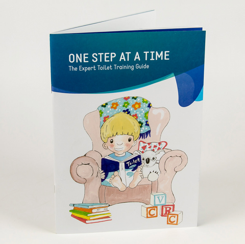 TOILET TRAINING BOOK - ONE STEP AT A TIME **