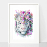 Bohemian Tiger Print - Spirit Animal Totem Series