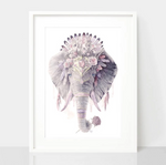 Package Deal Dusty Pink Art Prints - Spirit Animal Totem Series