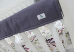 Cot Teething Rail Guards with Ribbon