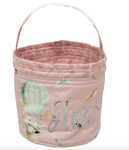Bunny Balloon Pink - Easter Hunting Basket
