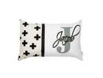 Swiss Cross Personalised Cushion - Hoot Designz