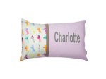 Geometric Unicorns Personalised Cushion
